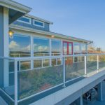 There are expansive View Decks on each level. Lower Level Deck enjoyable year-round, covered outdoor living space with fireplace.